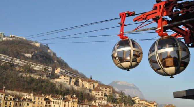 Téléphérique Grenoble-Bastille